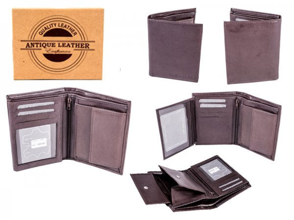 029 BROWN ANTIQUE LEATHER